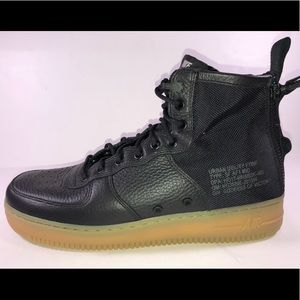 Nike Special Force Air Force 1 Mid Gum Bottom Shoe
